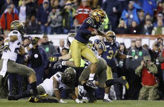 Perry rushes for 304 yards, leads No. 21 Navy past Army
