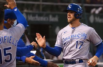 Royals snap five-game skid with 6-1 win over Athletics