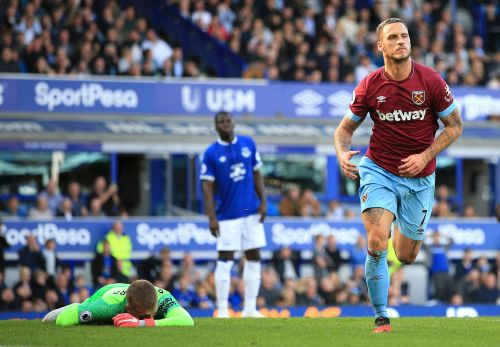 West Ham collects first points with 3-1 victory at Everton