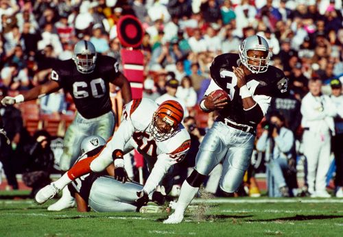 Bo Jackson expresses support, 'stands with' Raiders Carl Nassib, first openly gay NFL player