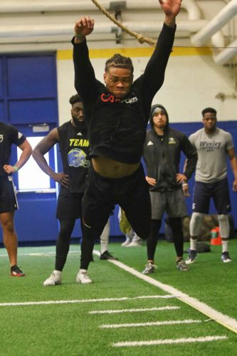 Delaware star Nasir Adderley, a potential Eagles target, has NFL pro day end early with injury