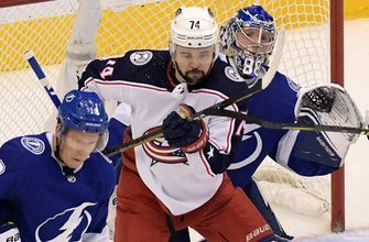 Lightning come up short in Game 2 as Blue Jackets even up 1st-round series