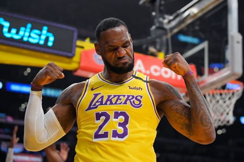 LeBron James, Lakers lead NBA sales with most popular jersey, merchandise