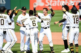 Pirates stage ninth-inning comeback, walk off Twins, 6-5