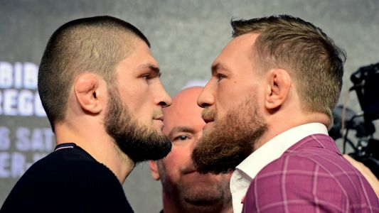 'King of the jungle' Khabib appears to mock Conor McGregor retirement