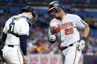 Rays can't complete sweep, fall to Orioles 6-5 in extra innings