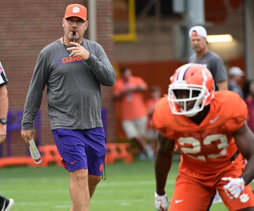 Clemson Tigers assistant football coach Danny Pearman apologizes in statement for using racial slur at practice