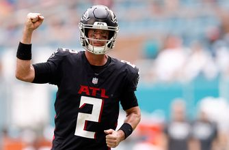Matt Ryan and Kyle Pitts make huge plays down stretch as Falcons beat Dolphins 30-28