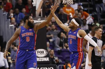 Ellington, Drummond lead Pistons past Suns, 118-98
