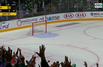 Radek Faksa Scores Empty-Netter on the way to beat the Anaheim Ducks 5-3