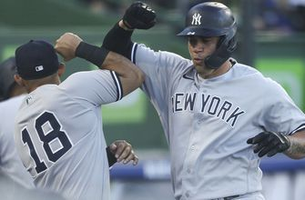 Yankees take advantage of three homers to top Blue Jays, 6-5