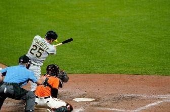 Stephen Piscotty ninth inning grand slam saves Athletics in dramatic 8-7 win over Giants