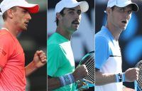 Thompson, Ebden, Millman victorious in AO openers
