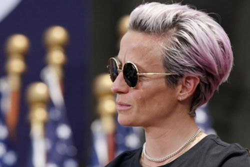 U.S. soccer star Megan Rapinoe named Sports Illustrated's Sportsperson of Year