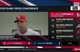 Mike Matheny: Luke Weaver 'got locked in and was very good' after shaky first inning