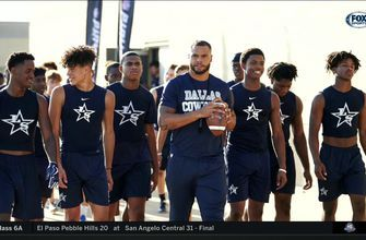 Frisco Lone Star gets a special visit from Dak Prescott