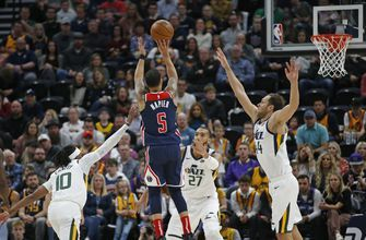 Jazz snap 4-game skid with 129-119 win over Wizards