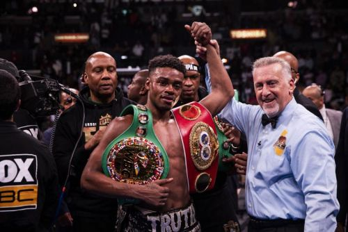 Boxer Errol Spence Jr. charged with DWI after Ferrari crash in Dallas