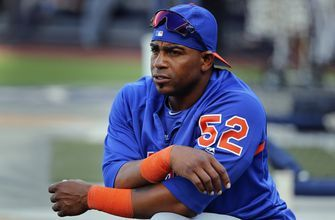 Céspedes arrives at spring training as silent as his bat
