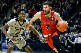 Edwards' big night lifts No. 24 Purdue over Ball State 84-75