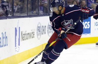 Blue Jackets fight, but fall to the Rangers in a shoot-out