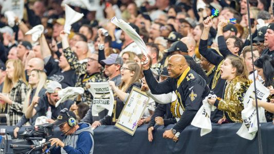 New Orleans Saints can have 3,000 in attendance at Superdome for Sunday's game vs. Carolina Panthers