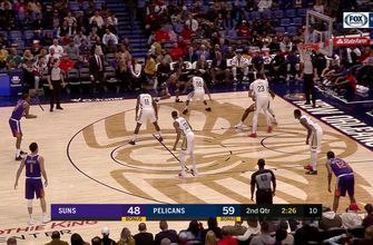 HIGHLIGHTS: Anthony Davis helps cllean up the paint with a BLOCK