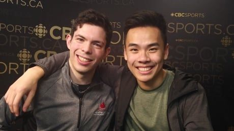 Canadian rivals Messing, Nguyen inseparable off ice - and on it, too
