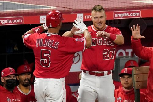 Mike Trout says he 'broke down' after hearing of Albert Pujols' release