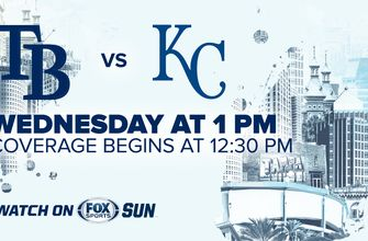 Preview: Rays close out 9-game homestand with finale against slumping Royals