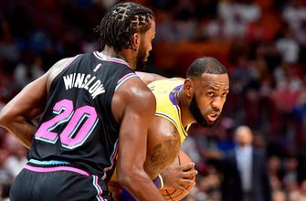 LeBron James drops 51 points in return to Miami as Heat fall to Lakers 113-97