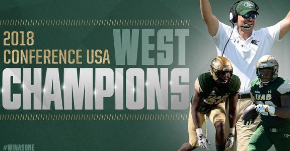 Four years after shutting down their football program, UAB is a division champion
