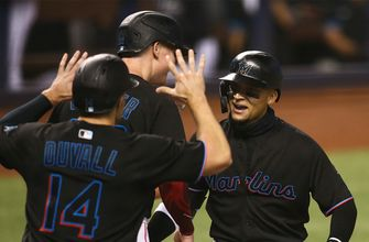 Isan Diaz clubs first career grand slam as Marlins beat Brewers, 6-1