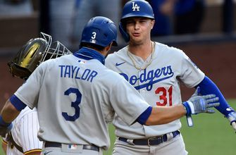 Joc Pederson launches two home runs, drives in five in Dodgers' 7-6 win over Padres