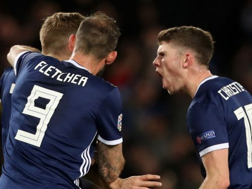 Forrest on fire as Scotland seal promotion