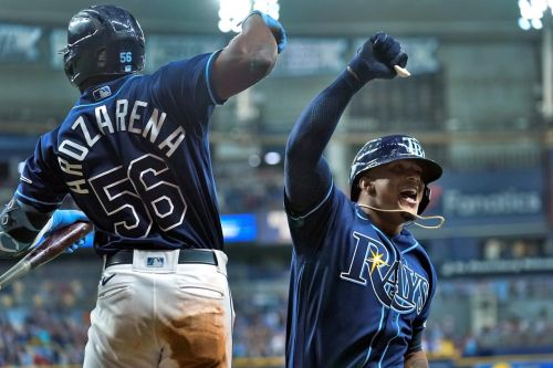 Franco HR, double in debut, but Rays lose to Red Sox in 11th