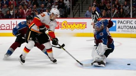 Gaudreau scores OT winner as Flames overcome early avalanche of goals