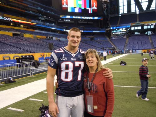 Rob Gronkowski's mother talks about her most famous son and his retirement from the NFL
