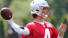 How Patriots' Jarrett Stidham Feels About Recently-Added Offensive Weapons