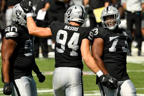 Carl Nassib's Raiders jersey a top-seller hours after coming out as gay