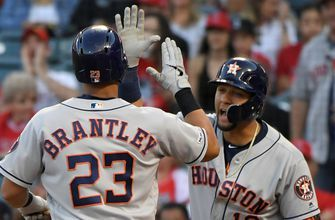 Michael Brantley crushes his 100th career home run in Astros 11-2 win