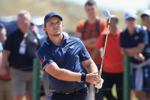 Golfer reveals he's hungover right after amazing British Open charge