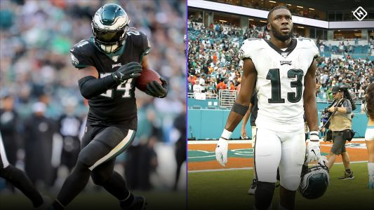 Fantasy Injury Updates: Is Jordan Howard playing Monday night? Is Nelson Agholor playing Monday night?