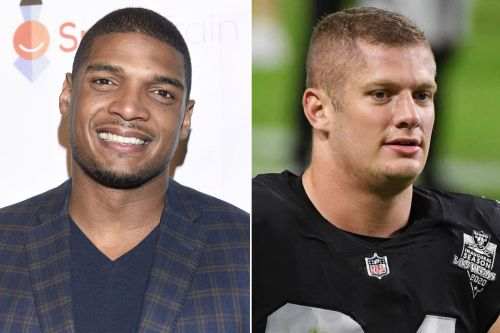 Michael Sam thanks Carl Nassib for coming out, donating to Trevor Project