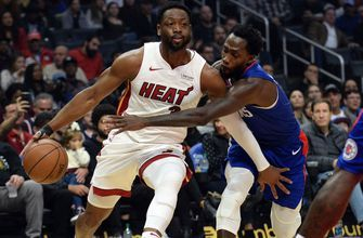 Dwyane Wade drops 25 points in 1,000th game as short-handed Heat stand tall in win over Clippers