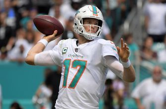 Dolphins plan to start Ryan Tannehill for first time in 6 games