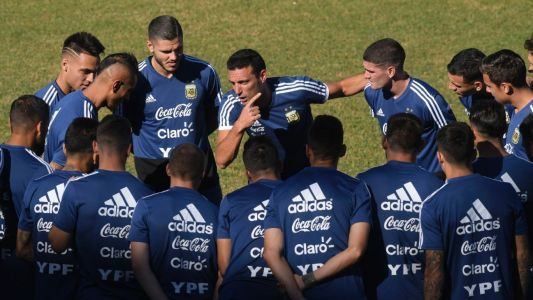 Argentina showing signs of renewal under Scaloni