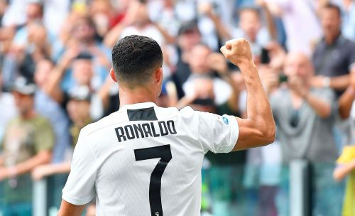 Ronaldo scores 1st league goal for Juventus and adds a 2nd