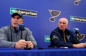 Blues to conduct broad coaching search while Berube mans bench for now