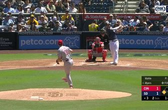 HIGHLIGHTS: Padres plate four runs in 3rd inning en route to 4-3 victory